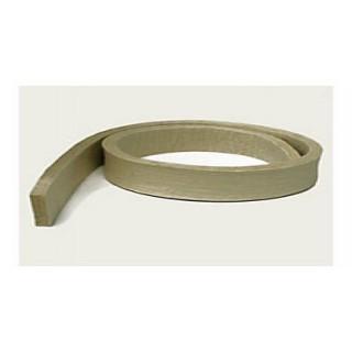 Feutre dur - épaisseur 15 mm - largeur 150 mm - le mètre