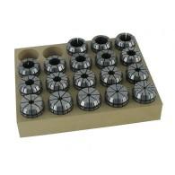 Pinces de serrage - GEDIMO ER32 - de 3 à 20 mm - 18 pièces