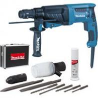Perforateur-burineur - MAKITA HR2630TX4 - 800 W - Ø 26 mm