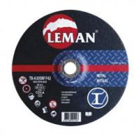 Disque à tronçonner - LEMAN 1602125 - Ø 125x2,5x22 mm