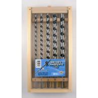 Coffret 5 mèches de charpente - LEMAN 308.500.05 - Ø 12 à 20 mm