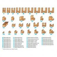 Coffret de 30 mèches à défoncer - LEMAN 428.700.30 - assortiment - Queue de 8