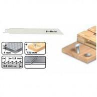 Lame de scie sabre - LEMAN 7713.05 - 180 x pas 1,8 mm - 5 lames