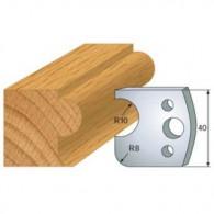 Couteau - LEMAN 800.004 - profil boudin - la paire