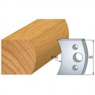 Couteau - LEMAN 800.008 - main courante - la paire