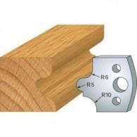 Couteau - LEMAN 800.012 - congé à gorge - la paire