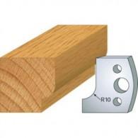 Couteau - LEMAN 800.013 - congé rayon 10 mm - la paire