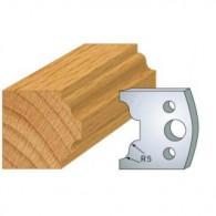 Couteau - LEMAN 800.025 - petit bois - la paire