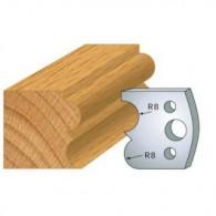 Couteau - LEMAN 800.028 - tore à gorge - la paire