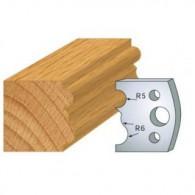 Couteau - LEMAN 800.029 - moulure - la paire