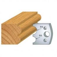 Couteau - LEMAN 800.051 - boudin 6 et 8 mm - la paire