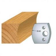 Couteau - LEMAN 800.087 - profil congé - la paire