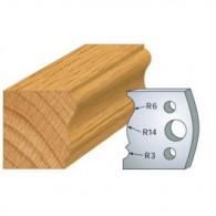Couteau - LEMAN 800.106 - moulure plinthe - la paire