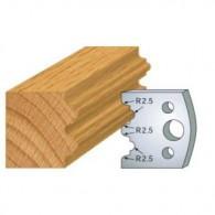 Couteau - LEMAN 800.108 - double astragale - la paire