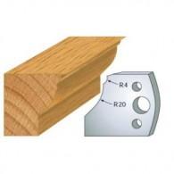 Couteau - LEMAN 800.109 - pied de table - la paire
