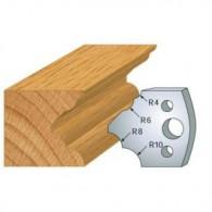 Couteau - LEMAN 800.126 - multi 1/4 de rond - la paire