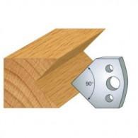 Couteau - LEMAN 800.127 - chanfrein 45° - la paire