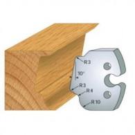 Couteau - LEMAN 855.208 - multi-moulure - la paire