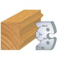 Couteau - LEMAN 855.211 - double astragale 5-8 mm - la paire