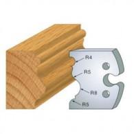 Couteau - LEMAN 855.228 - moulure renaissance - la paire