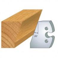 Couteau - LEMAN 855.230 - chanfrein 20° - la paire
