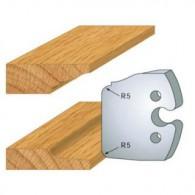 Couteau - LEMAN 855.231 - plate-bande double - la paire