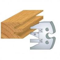 Couteau - LEMAN 855.232 - profil et contre-profil - la paire