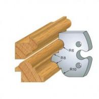 Couteau - LEMAN 855.233 - multi-profils - la paire