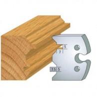 Couteau - LEMAN 855.239 - lambris volet - la paire