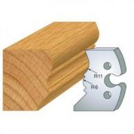 Couteau - LEMAN 855.241 - mouchette et cimaise - la paire
