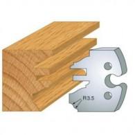 Couteau - LEMAN 855.258 - profil et contre-profil - la paire