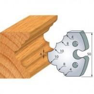 Couteau - LEMAN 855.275 - 1/4 de rond et congés - la paire