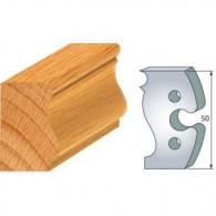 Couteau - LEMAN 855.285 - baguette filet Louis XVI - la paire