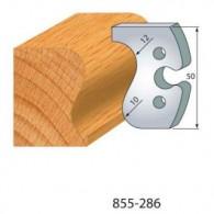 Couteau - LEMAN 855.286 - main courante r 12 - la paire