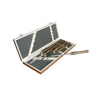 Coffret d'outils de tournage - LEMAN 87050005 - 5 pièces