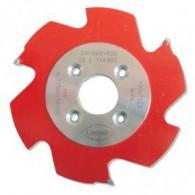 Fraise à rainer carbure - LAMELLO 01132141 -100x7x22 mm - Clamex