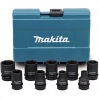 """Coffret 9 douilles - MAKITA D-41517 - 1/2"""" - 8 à 24 mm"""