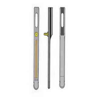 Guide chaîne - 13-20x30x110 mm - pas B