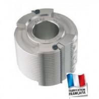 Porte-outils - ELBE PA012005 - bouvetage multiple - Ø 125x46x50 mm