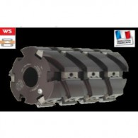 Porte-outils à raboter multicoupes - ELBE PI045020 - 125x240x40 mm