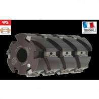 Porte-outils à raboter multicoupes - ELBE PI045021 - 125x245x40 mm