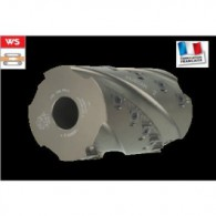 Porte-outils à raboter - ELBE PI045665 - 125x240x40 mm