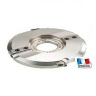 Porte-outils - ELBE PP019065 - plate-bande - Ø 180 x al 50 mm - dus