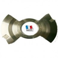 Porte-outils - ELBE PR003045 - à rainer intermédiaire - Ø 160x10x50 mm