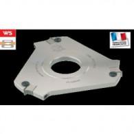 Porte-outils pré-dégauchissage - ELBE PS048080 - Ø 142x12x40 mm