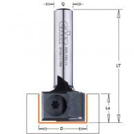 Mèche à rainurer à plaquettes - CMT 65519011 - Ø 19 x l 12 x L 45mm - Q8