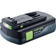 Batterie - FESTOOL 201789 - BP18 - 18 V Li-ion - 3,1 Ah