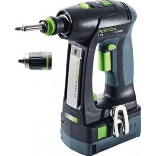 Perceuse-visseuse - FESTOOL C18 574738 - 18 V Li-ion - 5,2 Ah