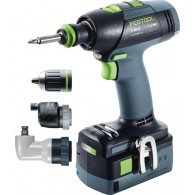Perceuse-visseuse - FESTOOL T18+3 Set 574758 - 18 V Li-ion - 5,2 Ah