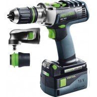 Perceuse-visseuse - FESTOOL PDC18 Set 574703 - 18 V Li-ion - 5,2 Ah